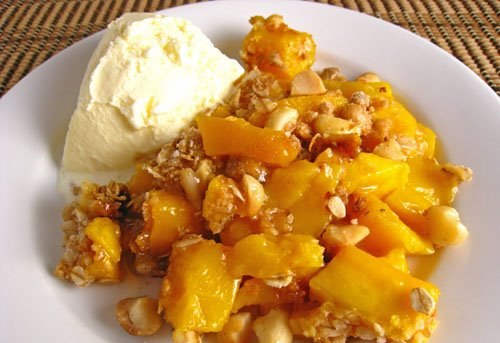 Mango crumble hi tea with sima ved mango crumble forumfinder Image collections